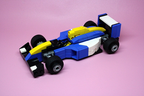 Lego Williams FW14