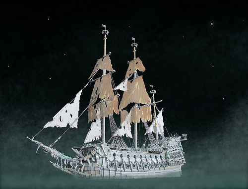 Lego Pirates of the Caribbean Flying Dutchman