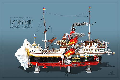 Lego Skytanic Sinking