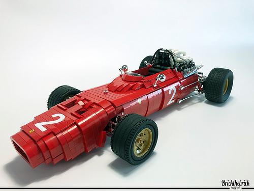 Lego Ferrari 312 Grand Prix Racer