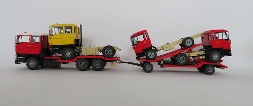 Lego DAF FAS Trucks