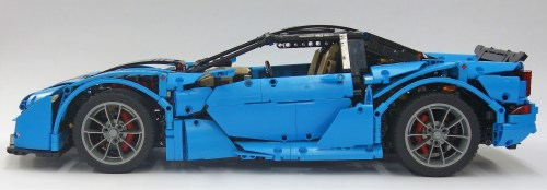 Lego Technic Supercar Crowkillers