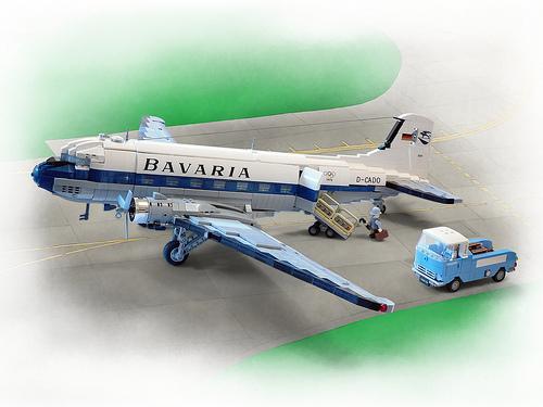 Lego Douglas DC-3