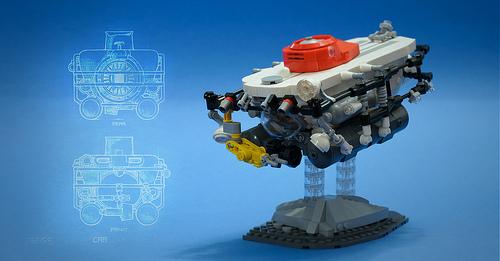 Lego Abyss Deep Sea Submarine
