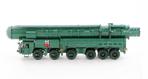 Lego MAZ, RSD-10 Pioneer SS-20 Saber