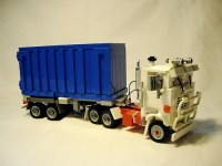 Lego Mack Container Truck | THE LEGO CAR BLOG