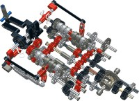 Lego Technic Sequential Gearbox Instructions | THE LEGO ...