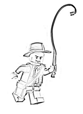 Indiana Jones Lego Coloring Pages Free