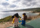 Looking out over the bay at Yallingup