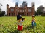 Having a walk around Government House Gardens