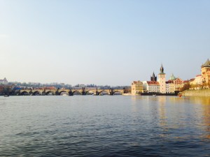 King Charles Bridge from the pedal