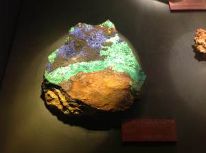 Azurite-Malachite from Morocco