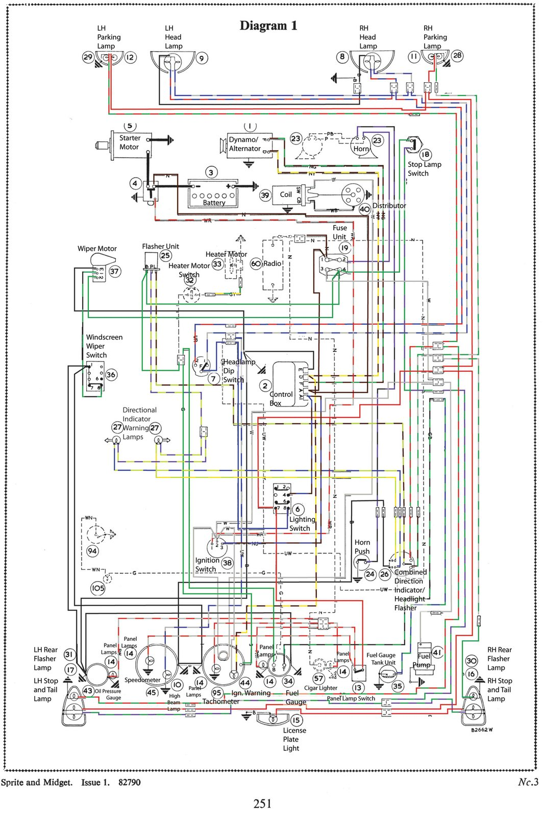 mg tf electrical wiring diagram ez go 48 volt midget 1965 mkii restoration november 2012