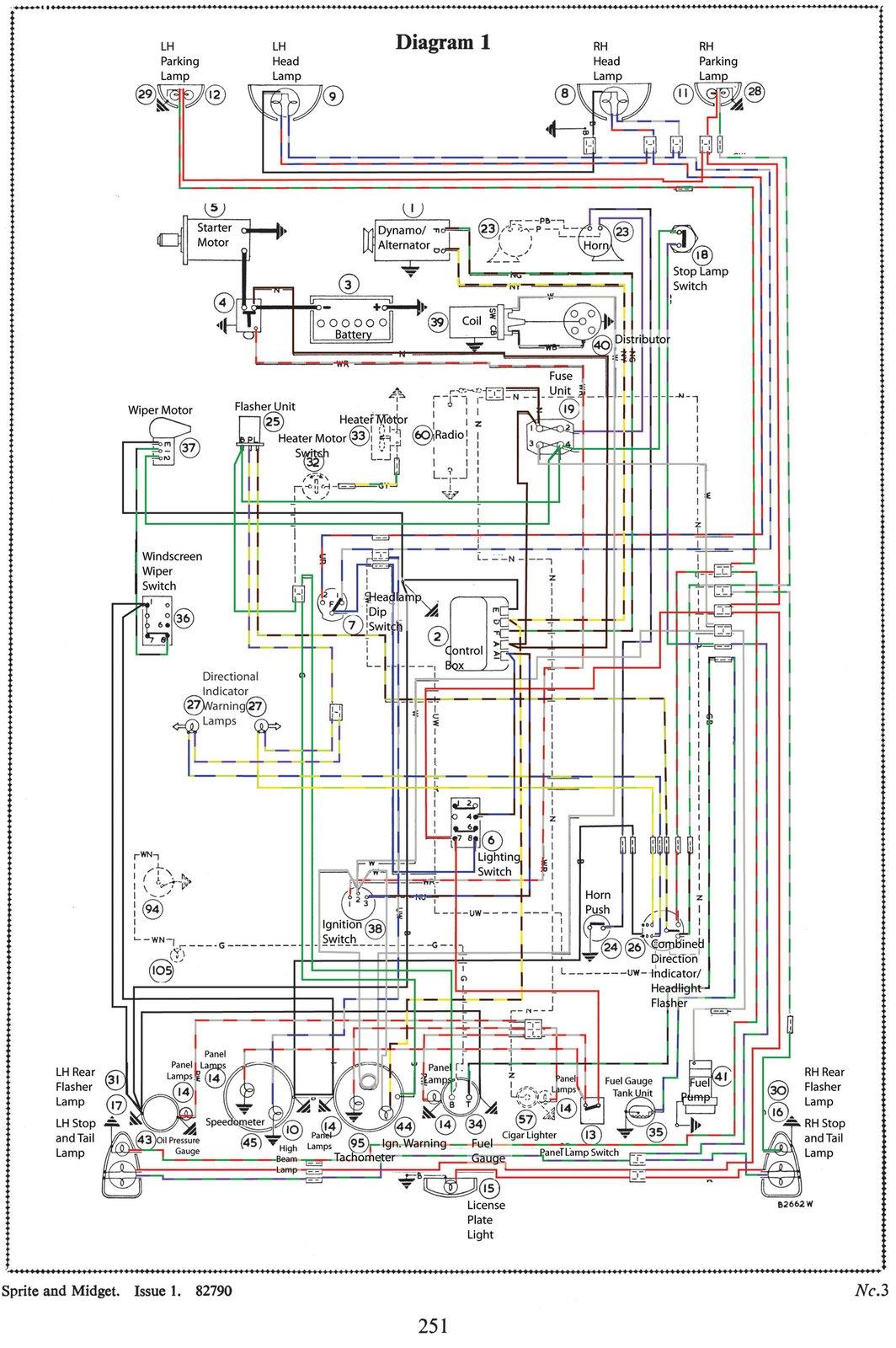 mg tf electrical wiring diagram lower leg nerve midget 1965 mkii restoration november 2012