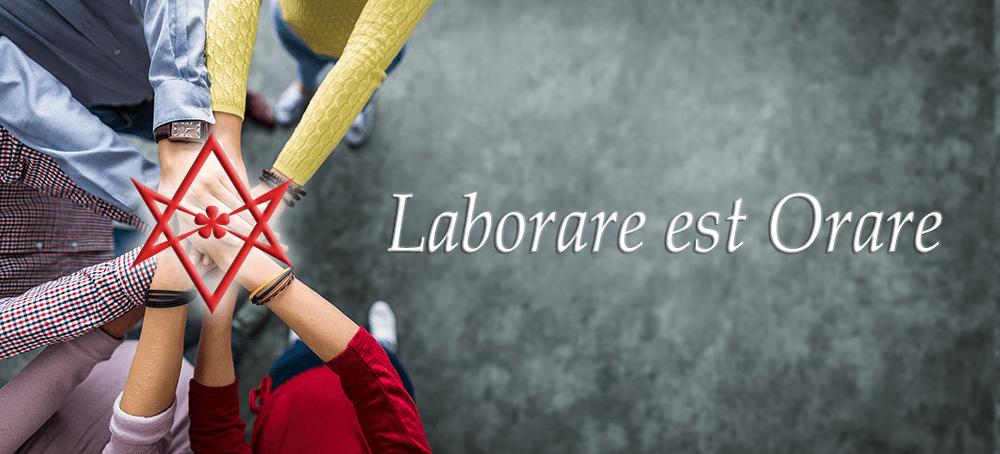 Laborare est Orare: The Prayer of Labor