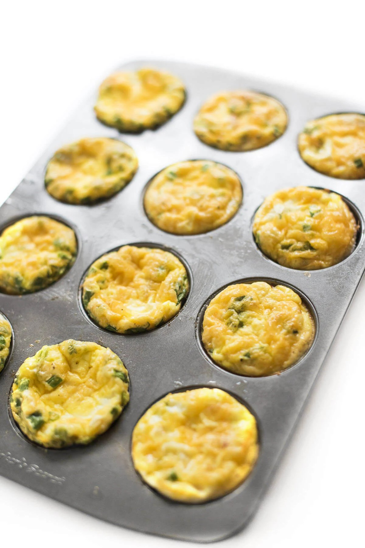 Hum and Cheese Egg Cups - high protein snack recipes