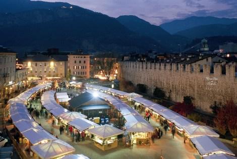 Trento's Christmas market