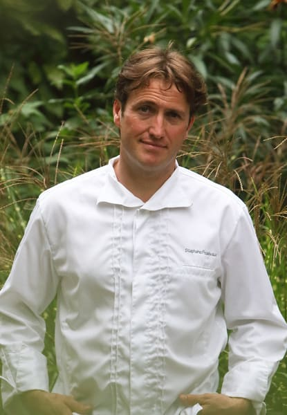 Stéphane Froidevaux, the chef from Grenoble's gastro restaurant Le Fantin Latour