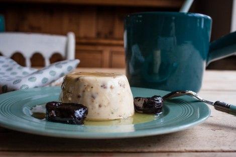 White chocolate panna cottta