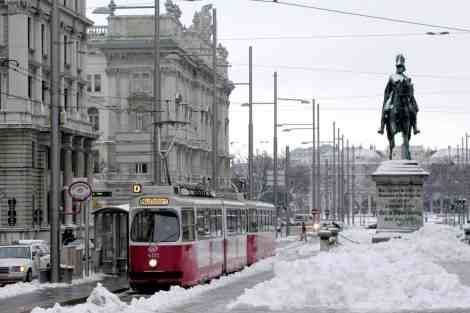 Winter time in Vienna