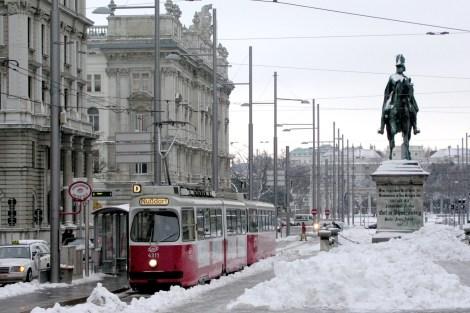 Winter time in Vienna