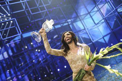 Conchita's moment in the spotlight, Eurovision winner 2014