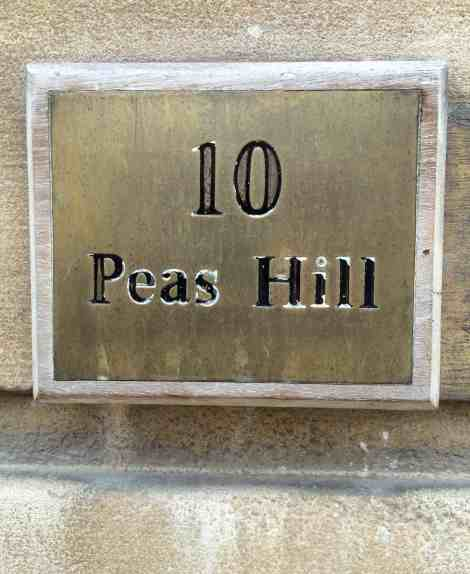 10 Peas Hill, home of the PInt Shop and crafted beer, meat and bread