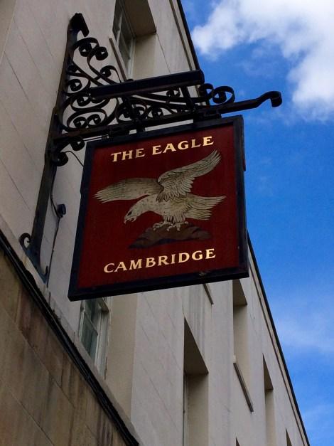 Weclome to the The Eagle pub