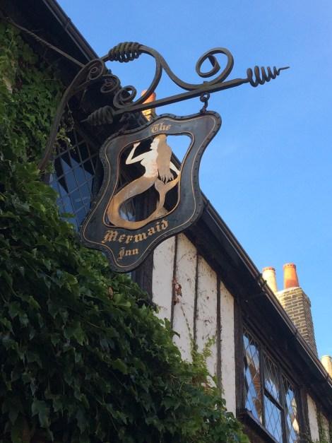 Rye's Mermaid Hotel, rebuilt in 1420!
