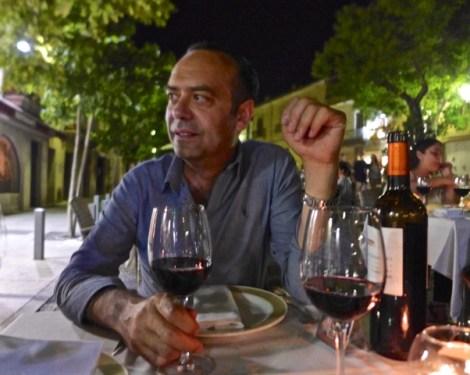 Chef José at El Figón de Eustaquio restaurant in Cáceres