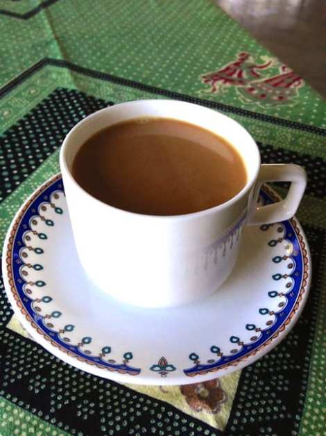 A cup of Masala chai