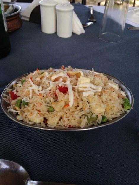 Kashmiri Palao, a popular aromatic rice dish