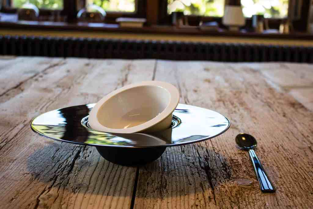 A creative two bowl solution from Rochini