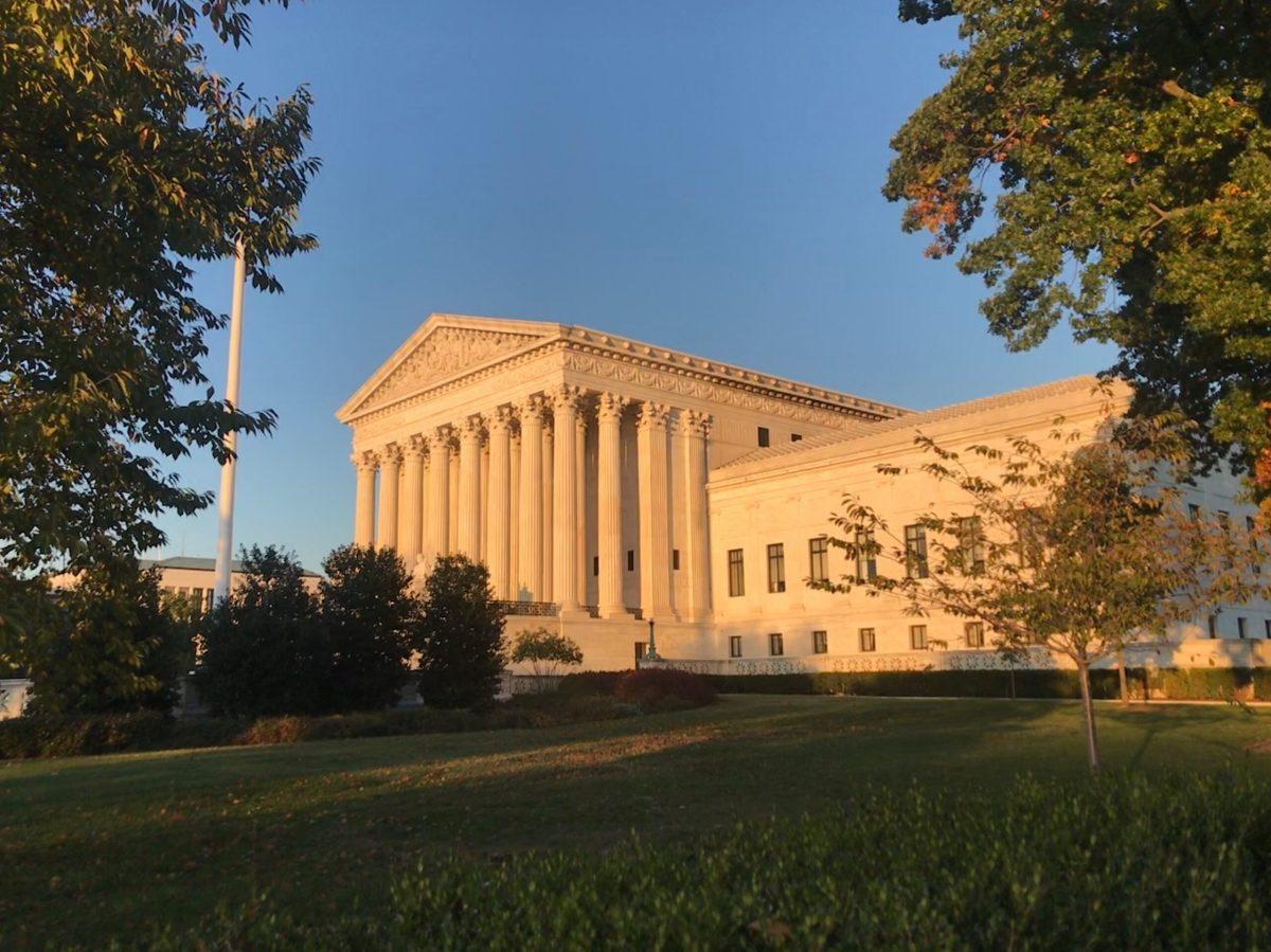 SCOTUS exterior, 11/2/19 credit Jessica Rosgaard