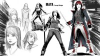 Maya-stages