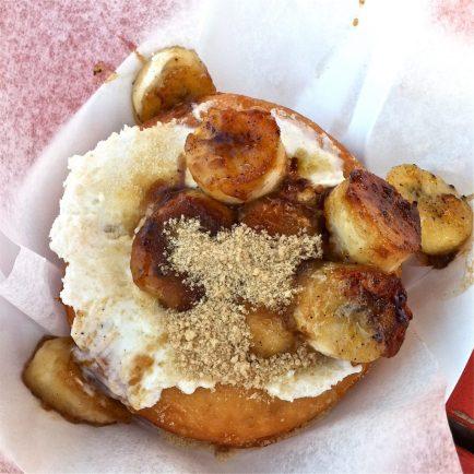 Funky Monkey Donut - Gourdoughs Austin, TX