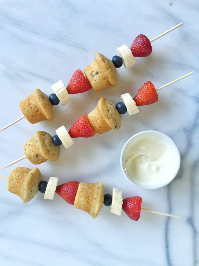 OS Mini Muffin Kabobs