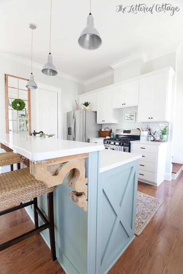 Cottage Kitchen Makeover Reveal The Lettered Cottage
