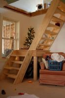 Bungalow Barn Update Loft Stairs   The Lettered Cottage