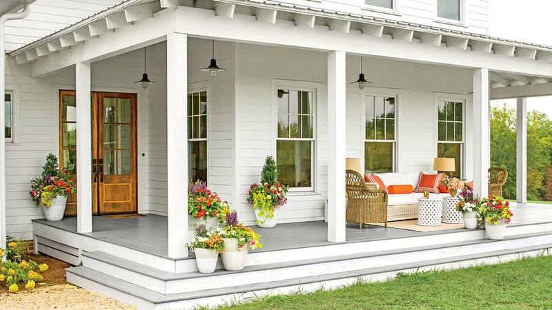 Farm House Interior Color Schemes
