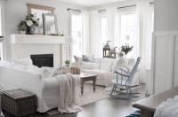 Cottage Style Living Room | Desainrumahkeren.com