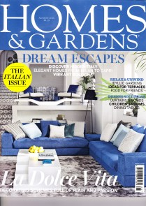 Cover of Homes & Gardens August