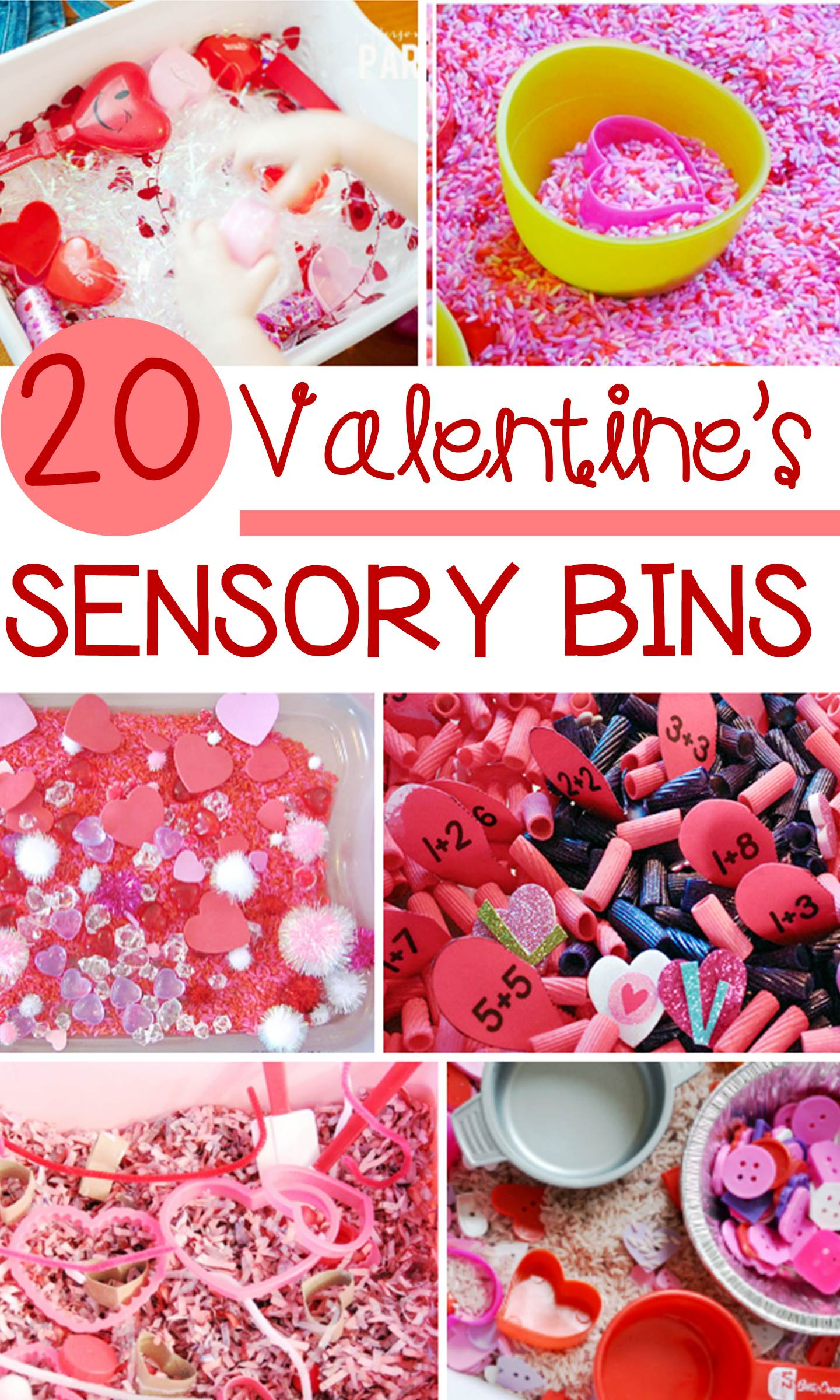 Valentine S Day Sensory Bins Kids Will Love For Pre K