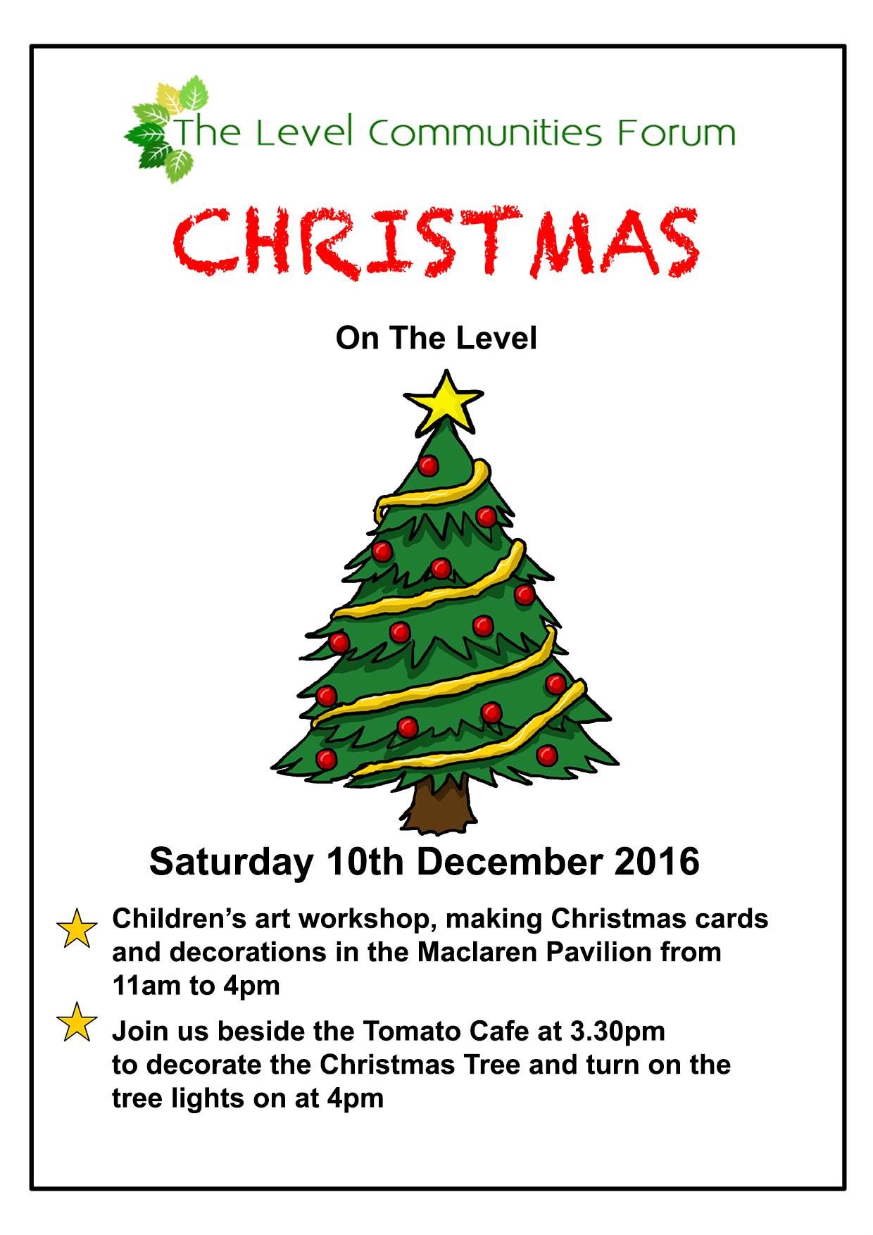 Christmas on the Level 2016
