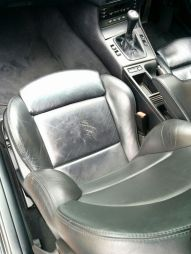 Picky I know but I've never had leather seats wear here even after 250k