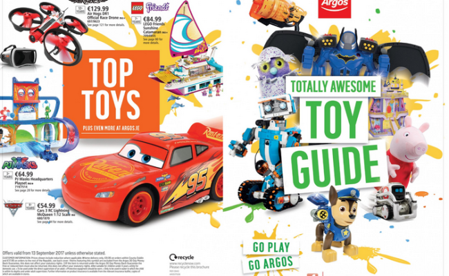 Get Ready For Santy Argos Officially Publishes Its New