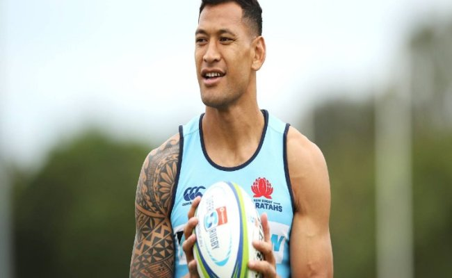 Australian Rugby Star Israel Folau To Face Hearing