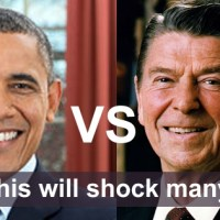 A rather funny but true comparison between Barack Obama and Ronald Reagan