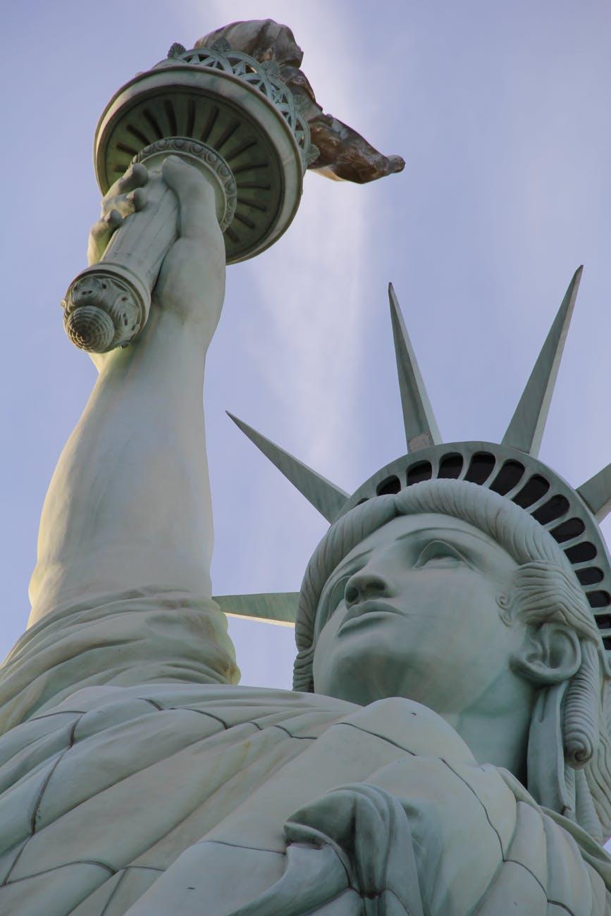 figure lady liberty landmark monument