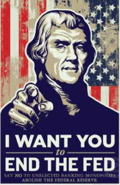 end the fed jefferson